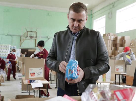 Глава Тульской области Алексей Дюмин отмечает губернаторское пятилетие