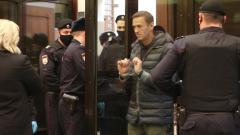 Эмоции Навального в суде попали на видео