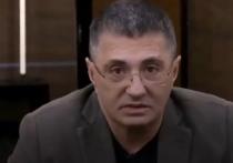 Телеведущий и доктор Александр Мясников прокомментировал заявление врача-иммунолога Владислава Жемчугова о том, что в конце весны возможно медицинские маски станут ненужными