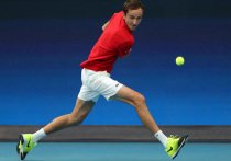 ATP Cup: Рублев по-прежнему— машина, Медведев падал от усталости