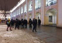У Гостиного двора задержали более десятка человек
