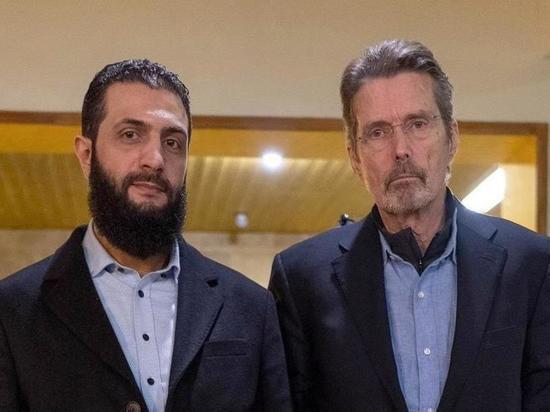"Американский журналист взял интервью у главаря ""Хайат Тахрир Аш-Шам"""