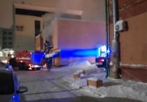 В центре столицы Кузбасса загорелось кафе
