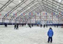 Современный хоккейный корт открылся в селе Новый Порт