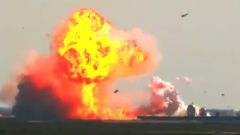 Прототип корабля Starship от SpaceX взорвался при посадке: видео