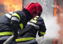 В Ивановской области пожар в большом частном доме тушили 34 сотрудника МЧС