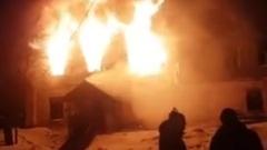 В Костромской области сгорело здание ЦРБ