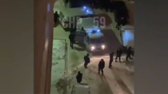 Появилось видео задержания пермского убийцы