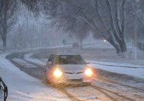 Очередной сильный снегопад надвигается на Рязанскую область