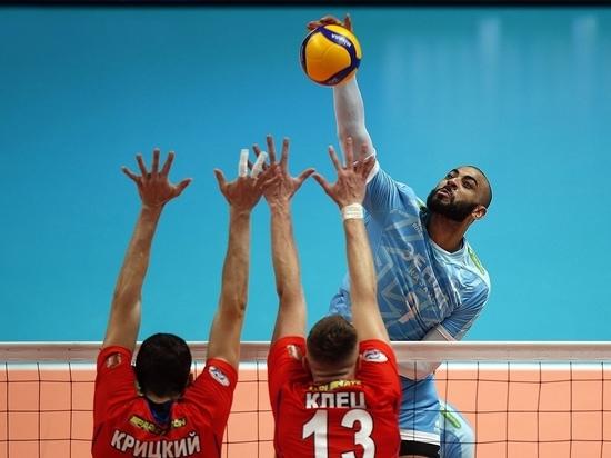 Красноярские волейболисты потерпели очередное поражение в Казани
