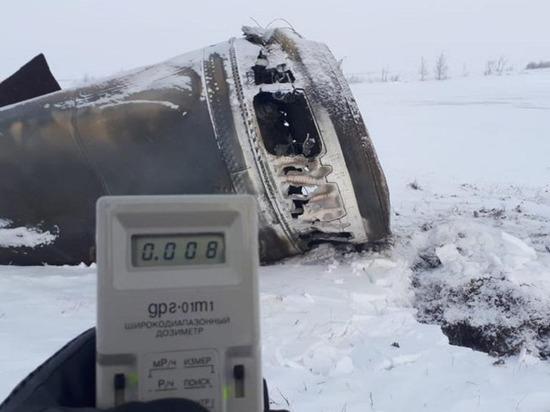 В тундре Ямальского района нашли упавшие детали космической ракеты