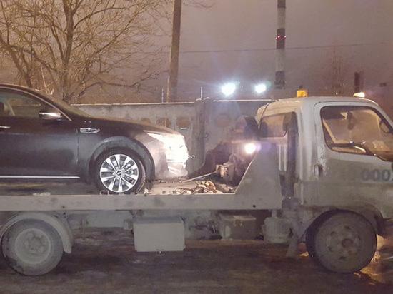 Ночные эвакуаторы в Кирове каждые сутки перемещают до сотни машин