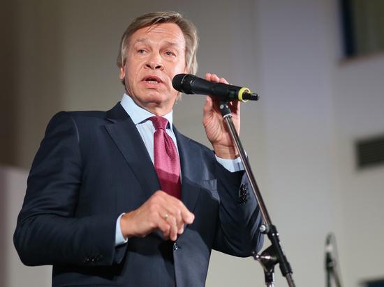 Пушков призвал не играть в «информационно-оценочные поддавки» с Западом