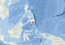 На Филиппинах произошло землетрясение магнитудой 6,2