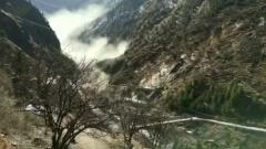 Сошедший в Индии ледник снес всё на своем пути