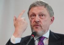 """Основатель партии """"Яблоко"""" Григорий Явлинский опубликовал на своем сайте пространную статью, в которой жестко раскритиковал оппозиционера Алексея Навального"""