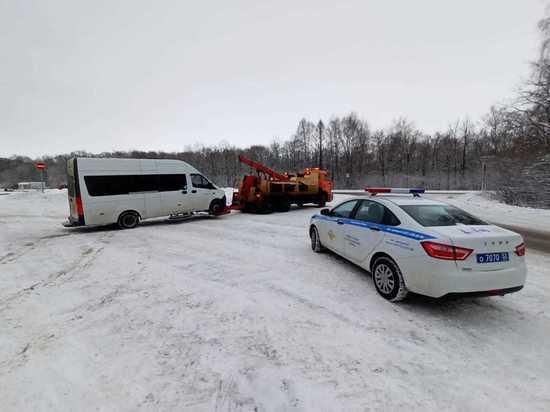 Автобус нелегального перевозчика арестован в Нижегородской области