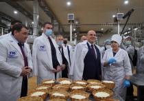 Мишустин посетил завод по производству знаменитого адыгейского сыра