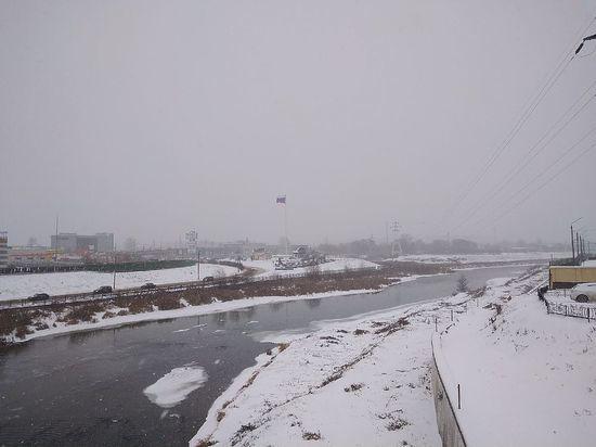 В Тульской области объявили метеопредупреждение из-за сильного снега и ветра