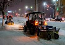 За минувшие сутки с улиц Рязани вывезли 4,5 тысячи кубометров снега