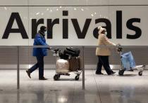 Великобритания пригрозила туристам 10 годами тюрьмы за нарушение карантина