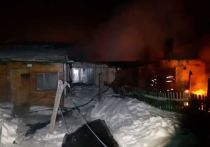 Житель Башкирии развел костер прямо в доме: от гибели людей спас извещатель