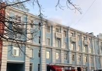 Два человека погибли при пожаре на улице Карла Либкнехта в Кронштадте