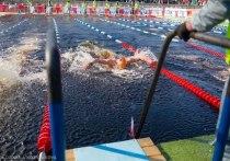 «Ледовый бассейн» для пловцов будет открыт на Онежской набережной