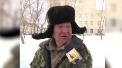 Трогательные мысли о любви 70-летнего дворника попали на видео