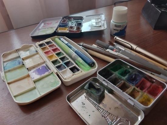 «Рисунок как кадр из фильма»: тульская художница рассказывает истории через картины