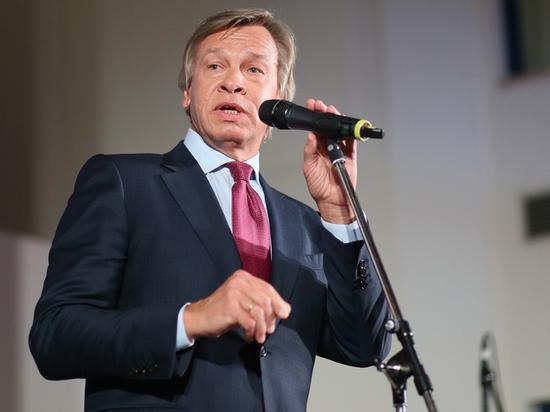 Пушков заявил, что Евросоюз хочет «жестко расправиться» с Россией