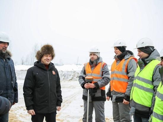 Губернатор Московской области Андрей Воробьёв дал старт строительству Северного обхода Лобни