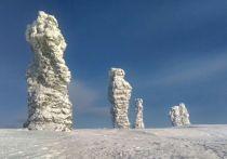 Экстремалы на снегоходах спасли девушку, пострадавшую в районе плато Маньпупунер