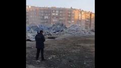 Во Владикавказе взрыв полностью разнес супермаркет: кадры разрухи