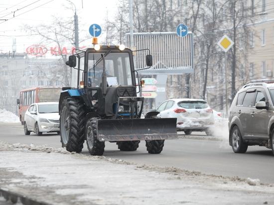 В Нижнем Новгороде из-за снегопада 9-тибалльные пробки