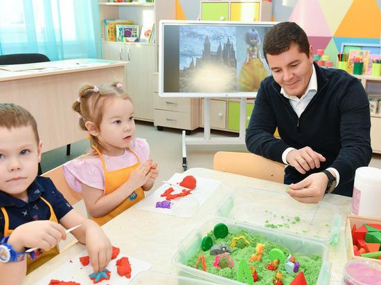 Артюхов открыл новый детсад «Олененок» в Салехарде