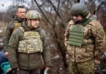 Украинский президент Владимир Зеленский совершил «показательную» поездку на Донбасс