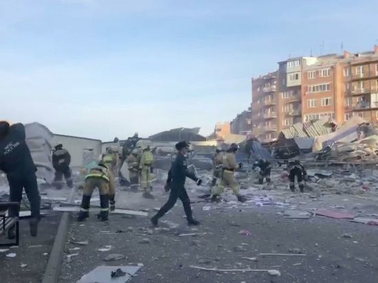 Возбуждено уголовное дело по факту взрыва в супермаркете во Владикавказе