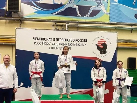 Ольга Владимирова из Калмыкии стала чемпионкой России по джиу-джитсу