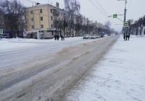 Коммунальщики Йошкар-Олы ликвидируют последствия снегопада