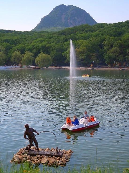 В Железноводске благоустроят озеро Каррас