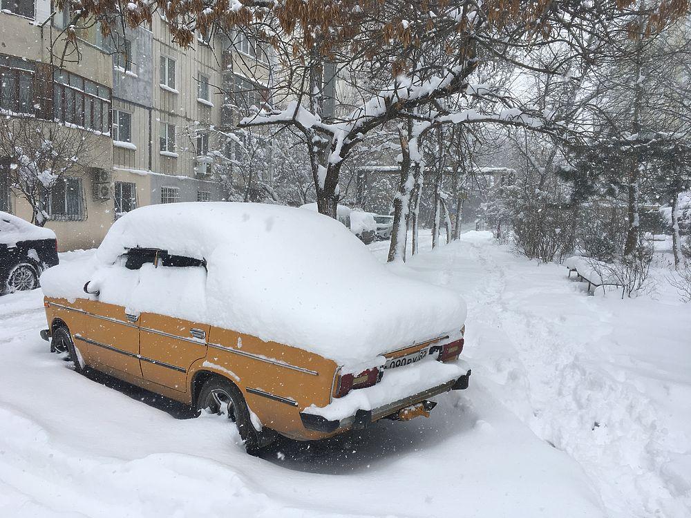 Такого снегопада давно не видели в Крыму