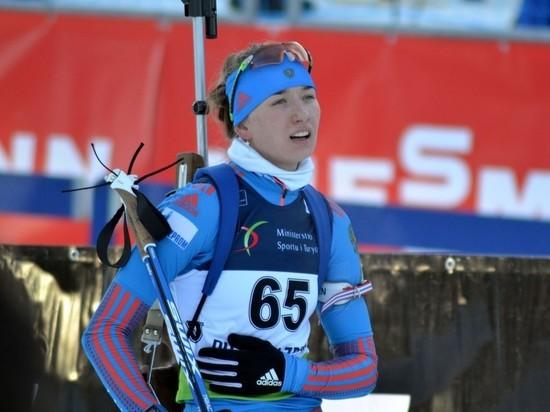 Светлана Миронова допустила шесть промахов в спринте чемпионата мира
