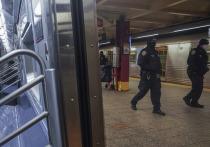Сотни полицейских направлены в метро  Нью-Йорка после того, как в результате серии ножевых атак, объектами которых стали, как предполагается, бомжи, погибли два человека