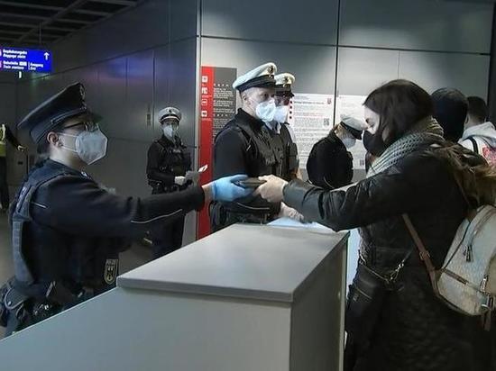 В Германии усилен пограничный контроль авиарейсов из Вены и Праги