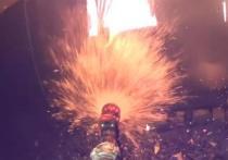 Пожарный снял на видео от первого лица тушение бани в Марий Эл