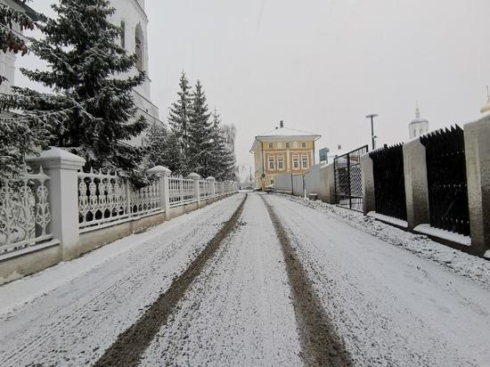 В Тульской области объявлен оранжевый уровень погодной опасности