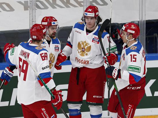 Сборная России разгромила чехов и досрочно стала победителем Еврохоккейтура
