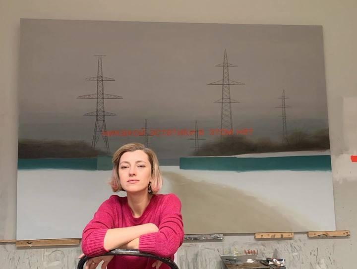 В галерее «Триумф» художник Павел Отдельнов показал «Русское нигде»