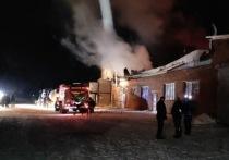 В Воткинском районе Удмуртии сгорел гараж учхоза ИжГСХА